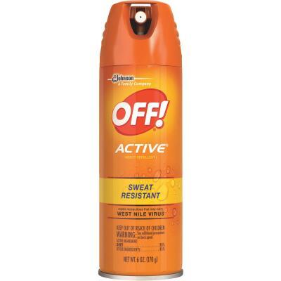 Off Active 6 Oz. Insect Repellent Aerosol Spray