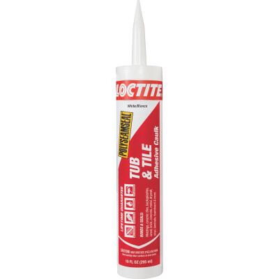 LOCTITE POLYSEAMSEAL 10 Oz. White Kitchen & Bath Caulk